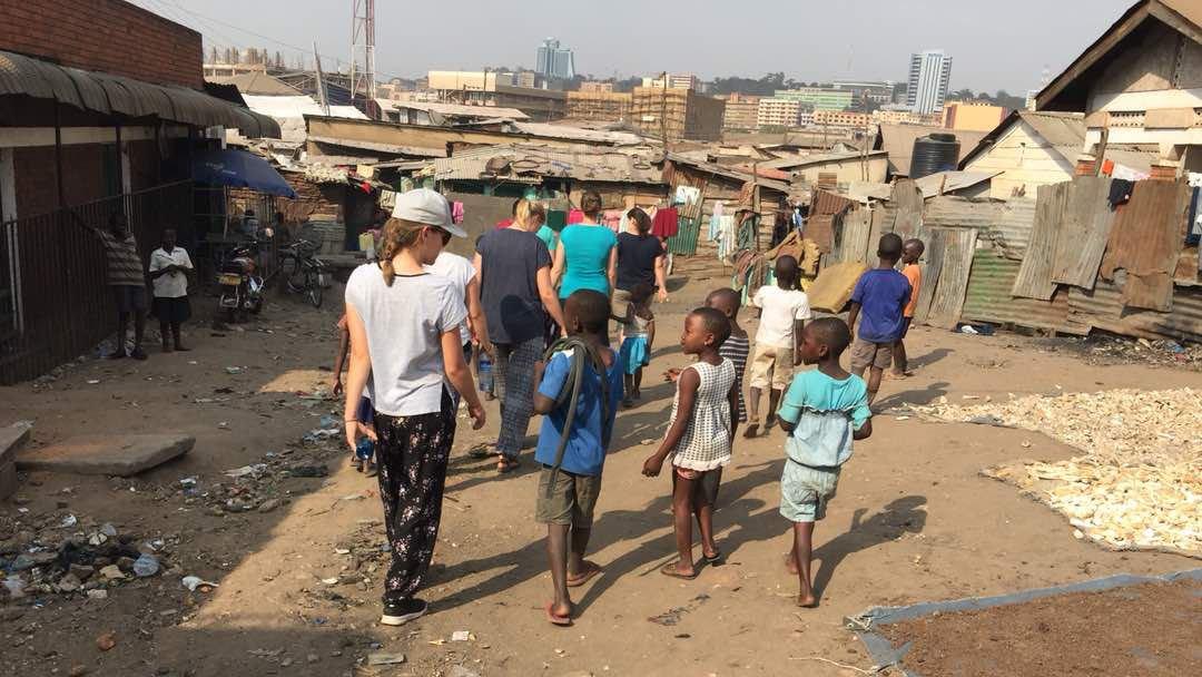 Slum-Besuch